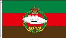 ROYAL TANK REGIMENT - 5 X 3 FLAG